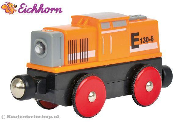 Eichhorn Rangeertrein automatische trein | Houtentreinshop.nl