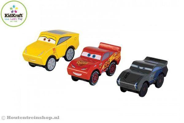 Kidkraft Disney Cars 3 Piston Cup | Houtentreinshop.nl